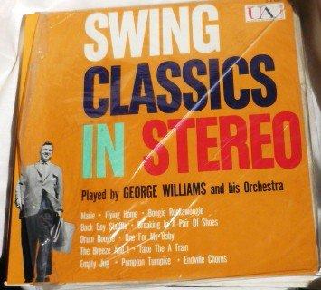 Swing Classics in Stereo- George Williams lp uas 6027