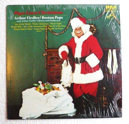 Pops Goes Christmas lp - Arthur Fiedler and Boston Pops Red Seal sc 3324 Stereo