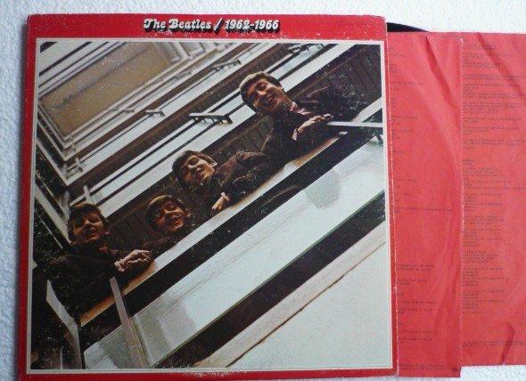The Beatles 1962 - 1966 lp 1973 Original Like New Albums skbo 3403