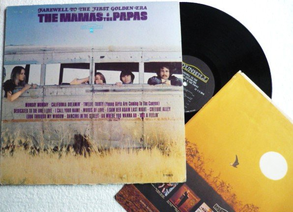 Farewell to the First Golden Era lp - the Mamas and the Papas D 50025