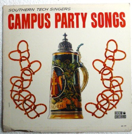 Campus Party Songs - Southern Tech Singers cx 177 Coronet 1960s?