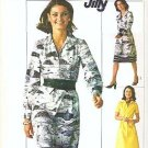 Simplicity Pattern Number 7571 Uncut Size 12 Dress 1976