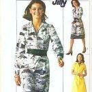 Simplicity Pattern Number 7571 Uncut Size 12 Dress 1976