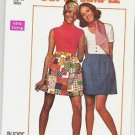 Simplicity Pattern 8632 Uncut Ladies Size 14 Super Simple Skirt 1969