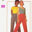 Uncut Simplicity Pattern 8633 Size 14 Super Simple Pants 1969