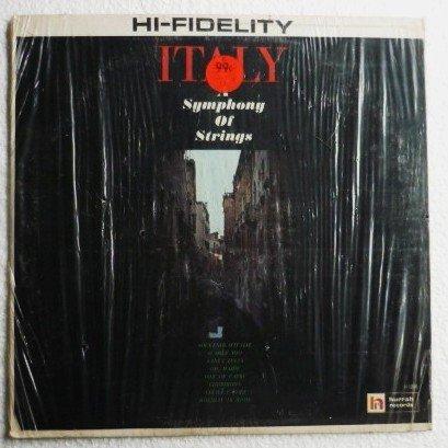 Rare lp: Italy A Symphony of Strings Hurrah Records Album H 1058