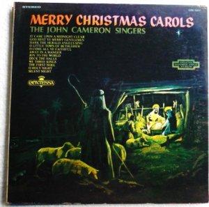 Merry Christmas Carols lp Con 15017 - The John Cameron Singers 1960s?