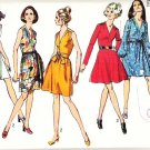 Simplicity Pattern 8701 Miss Siz 14 Dress with Two Skirts 1970
