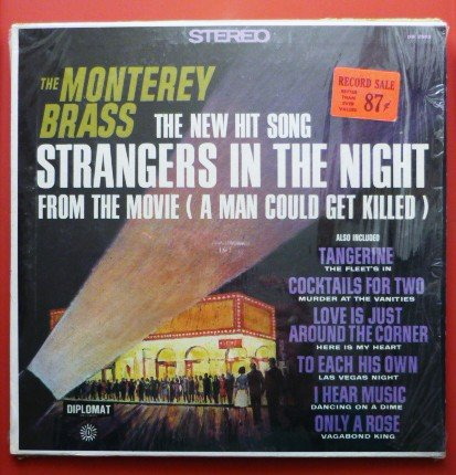 The Monterey Brass lp Diplomat Great Songs From Movies ds 2392