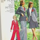 Uncut Simplicity Pattern 6103 Size 12 Jacket Skirt and Pants 1973