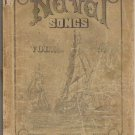 Naval Songs 1889 Vol 2 Collection of Original Selected Sea Songs Edited by D P Horton
