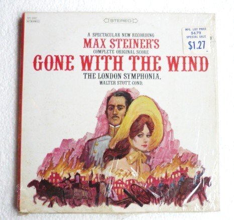 Gone with the Wind lp by the London Symphonia Complete Original Score spc-3087