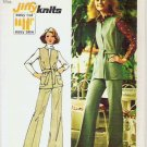 1973 Simplicity Pattern 5858 Sz 12 Safari Vest and Pants