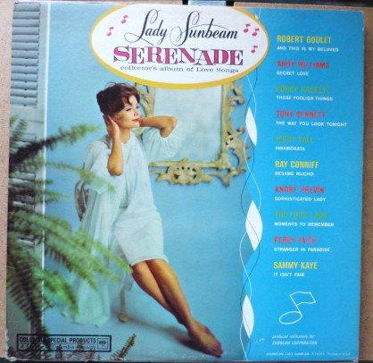 Exclusively for Lady Sunbeam Serenade Collectors Album of Love Songs A 1623-1 1960s?