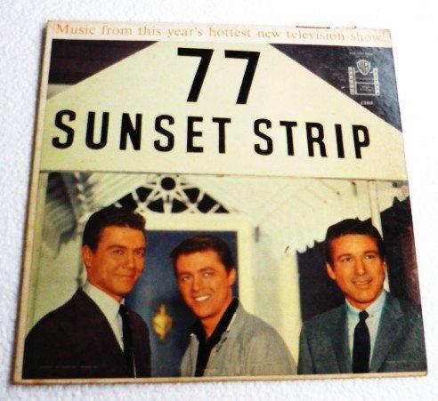 77 Sunset Strip lp 1959 Original Warner Bros 1289 Smith Byrnes Zimbalist