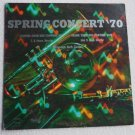 Stanford Jr High Orange Senior High in N Carolina Spring Concert 70 lp 38756