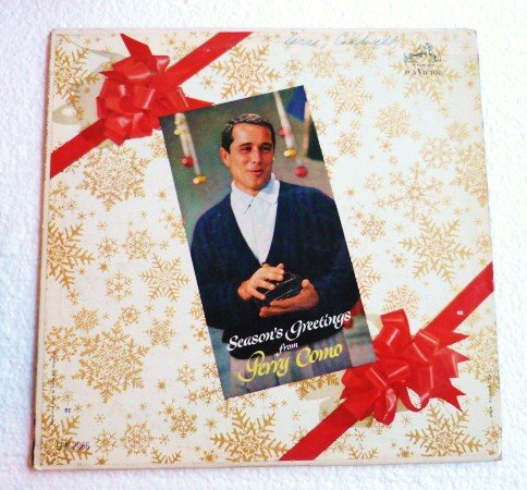 Seasons Greetings From Perry Como 1959 Record lpm-2066 One Owner