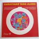 Christmas Sing Along lp Diplomat x1012 Synthetic Plastics Rare
