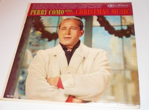 Perry Como Sings Merry Christmas Music lp cal-660