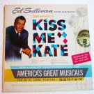 Ed Sullivan presents Kiss Me Kate 1960 lp - es2
