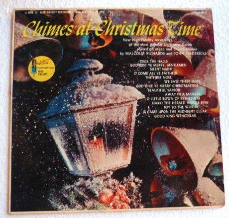 Chimes at Christmas Time lp Audition Record Aud 33-5944 Rare