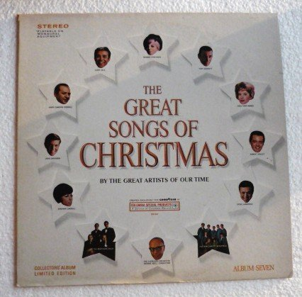 VGC The Great Songs of Christmas - The Great Artists of Our Time lp No. Seven css 547