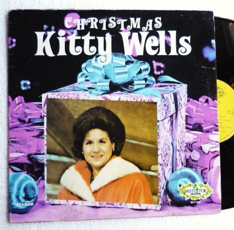 Kitty Wells Christmas lp Stereo MLP-1214