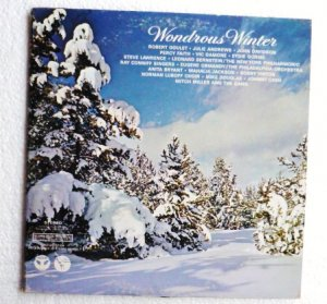 Wondrous Winter lp Double Record by Various Artists Columbia css 708-9