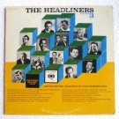 The Headliners - Volume 3 lp - Various Artists 1962 Columbia gb-11