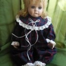Porcelain Toddler Doll 18 Inch Marked and Numbered Rosa 5000-751