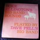 Duke Ellingtons Big Band Sounds by Dave Pell - Yellow Vinyl 3007 lp
