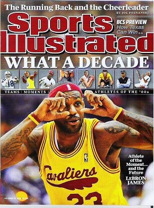 Sports Illustrated - December 28 2009 - No Label  - What a Decade - Lebron James