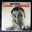 1960 lp: More... Jose Jimenez Kapp Records kl-1215