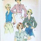 Uncut Simplicity Pattern 6161 Blouse for Junior/Misses Sz 12