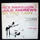 My Fair Lady lp w/ Rex Harrison and Julie Andrews 1960s ol 5090