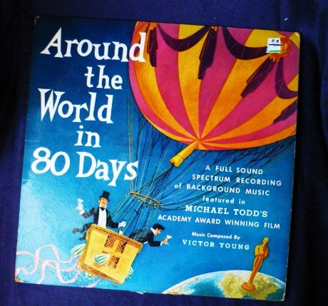 Victor Young Michael Todd Around The World In 80 Days lp 1957 p2800