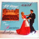 101 Strings Play Hit American Waltzes 1950s lp p-6200