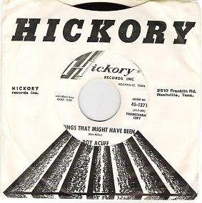 Do you Wonder Why / Things That Might Have Been Roy Acuff  Promotional 45 1271