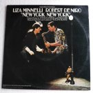 New York New York - Original Motion Picture lp Liza Minnelli Robert De Niro