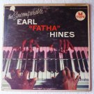The Incomparable Earl Fatha Hines - Earl Hines lp Tops L 1599