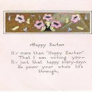 Happy Easter Post Card - Antique - Early 1900s