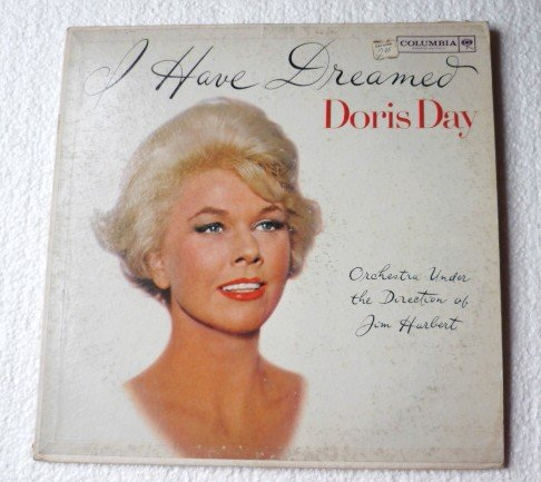 I Have Dreamed lp by Doris Day cl 1660 6-Eye Near Mint