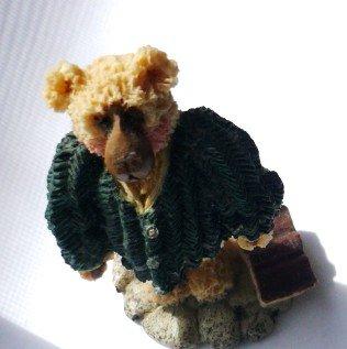 Shelly Bear 1997 Resin Statue Francis No 483/5000 Proverbs 3:13