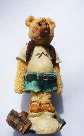 Shelly Bear 1997 Resin Statue Richie No 3871/5000 Backpacker