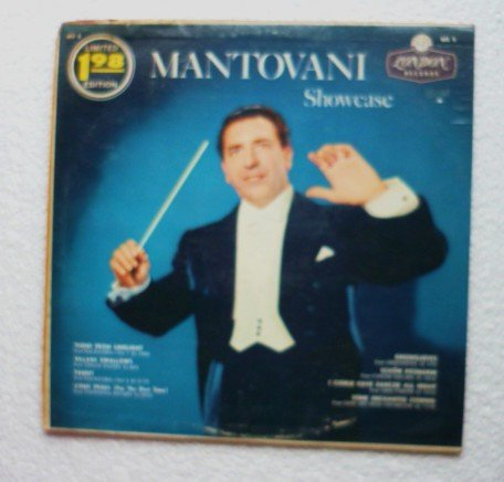 Mantovani Showcase 1959 Limited Edition lp ms 5