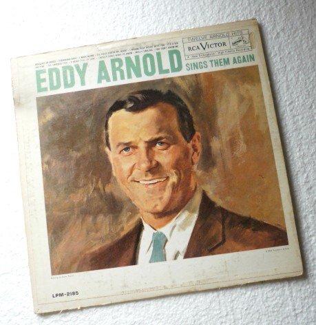 Eddy Arnold Sings Them Again lp lpm-2185