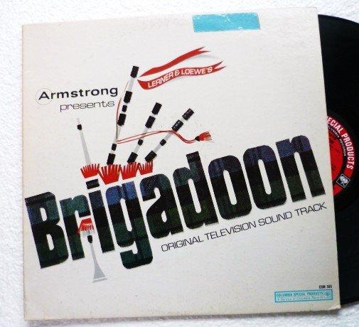 Brigadoon - Original Television Sound Track lp csm 385 Peter Falk Robert Goulet
