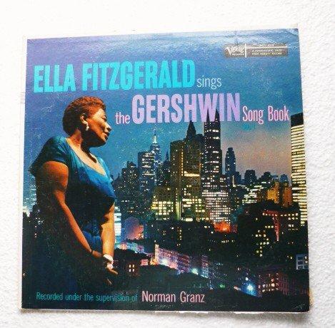 Ella Fitzgerald Sings The Gershwin Song Book Vol 1   1957 lp mgv-4013