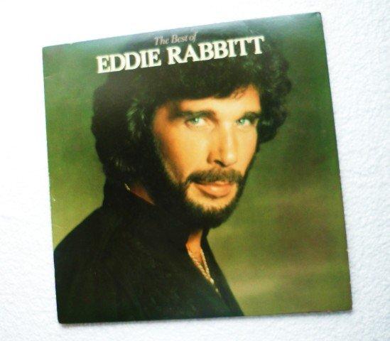 The Best of Eddie Rabbitt 1979 Vinyl Record lp 6E-235