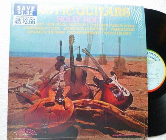 Holly Holy ~ The Exotic Guitars lp R8073